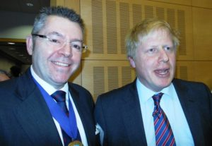 Boris Johnson, UK Foreign Secretary & David Stringer-Lamarre