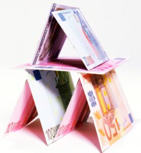 International House of Cards --- Image by © Royalty-Free/Corbis