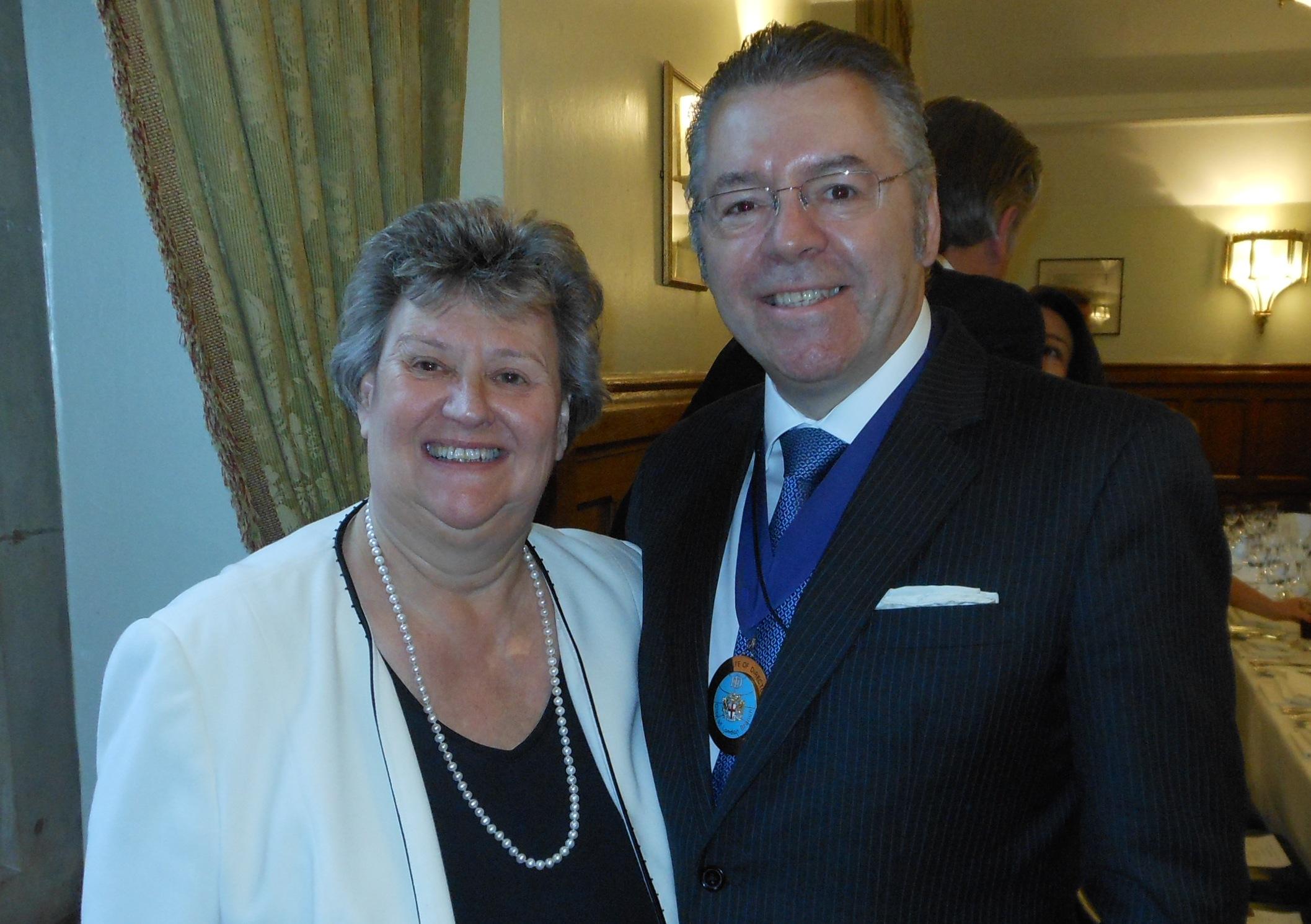 Heather Wheeler MP, Vice Chairman APPCG & David Stringer-Lamarre
