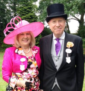 Angela at Royal Ascot