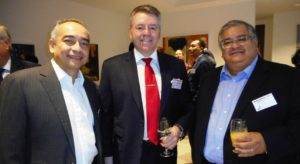 Left to right: Dato' Sri Nazir Razak, David Stringer-Lamarre & Dato' Mohammad Faiz Azmi, PWC