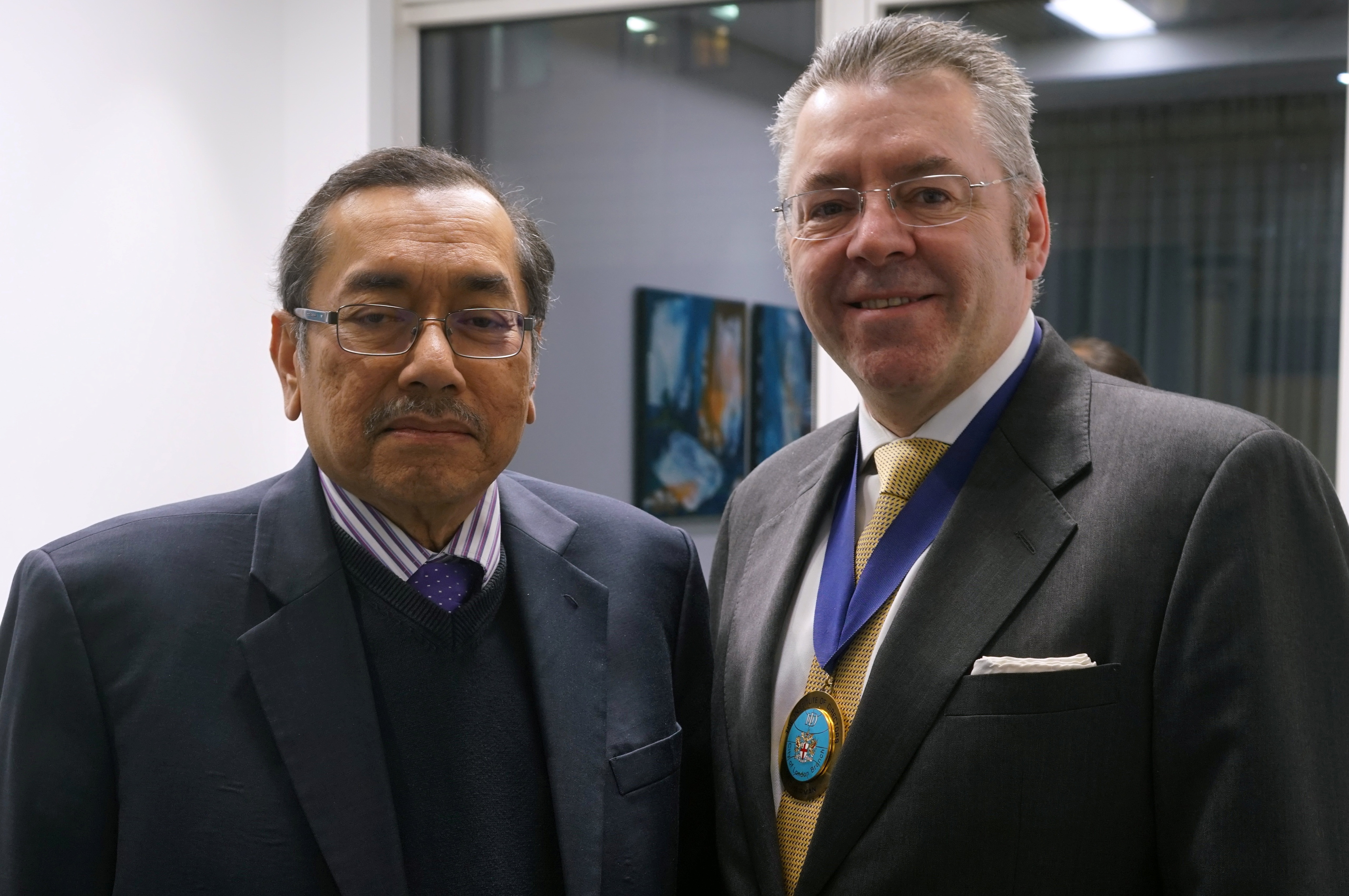 HE Dato' Ahmad Rasidi Hazizi, High Commissioner of Malaysia & David Stringer-Lamarre