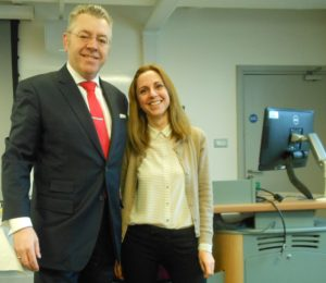 Dr Nikoletta Siamagka, King's College London & David Stringer-Lamarre