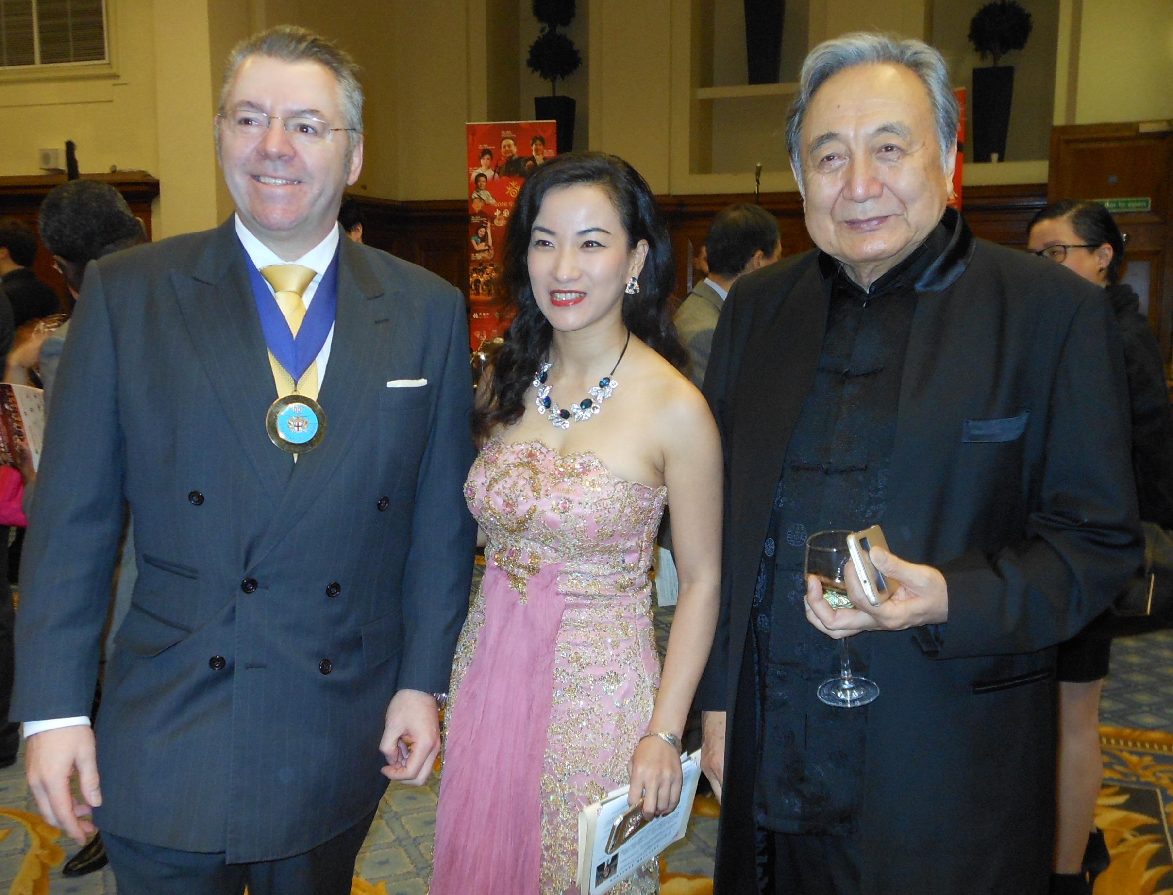 Conductor Kuan Naichung and David Stringer-Lamarre