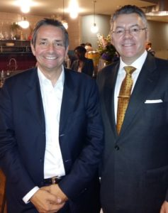 Lawrence Wintermeyer, CEO of Innovate Finance and David Stringer-Lamarre