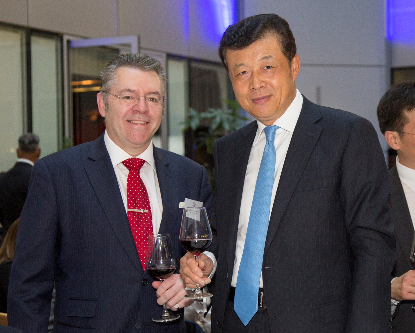 Ambassador of China HE Liu Xiaoming & David Stringer-Lamarre