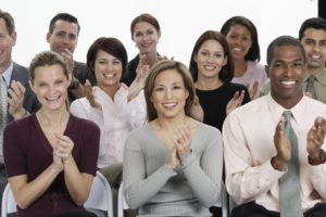 Businesspeople Applauding